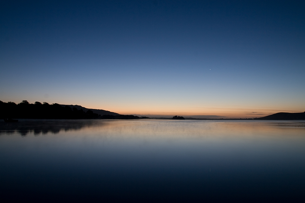 Morgens am Loch Leven