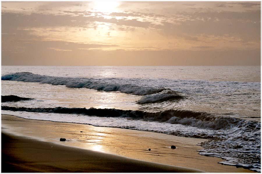 Morgens am Strand von Maspalomas