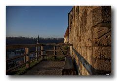 Morgens an der Burgmauer...