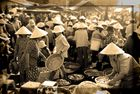 Morgens auf dem Fischmarkt in Hoi An