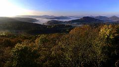 Morgens auf der Lindelbrunn