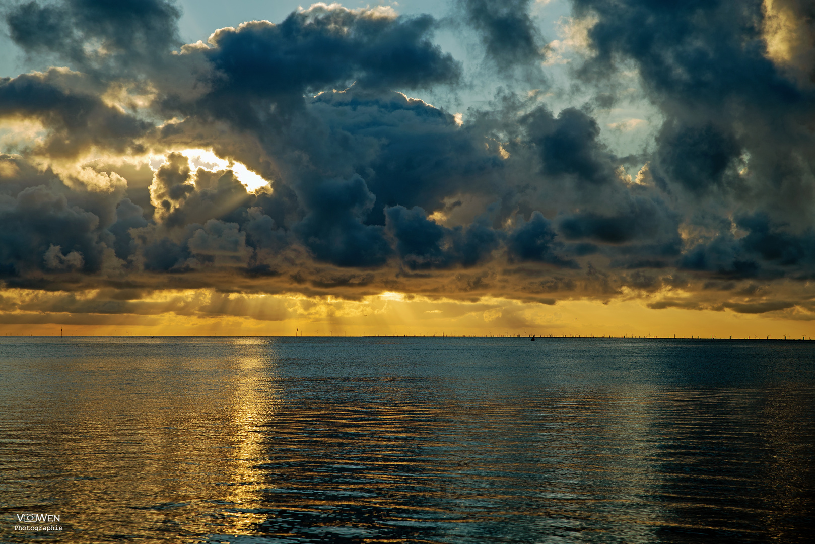 Morgens Früh an der Nordseee