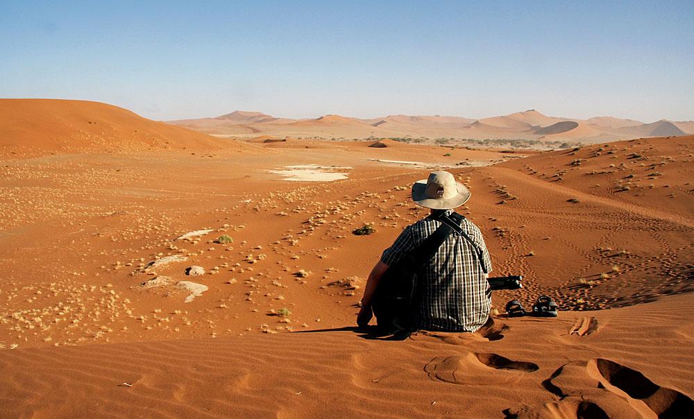 morgens halb zehn in .... Namibia!