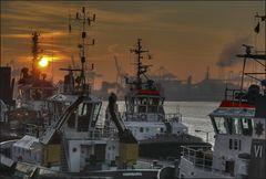 * Morgens im Hafen II *