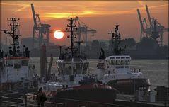 * Morgens im Hafen IV *