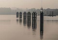 Morgens im Hansahafen