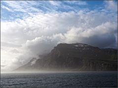 Morgens im östlichen Island