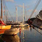 Morgens im Stadthafen