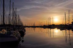 morgens im Yachthafen