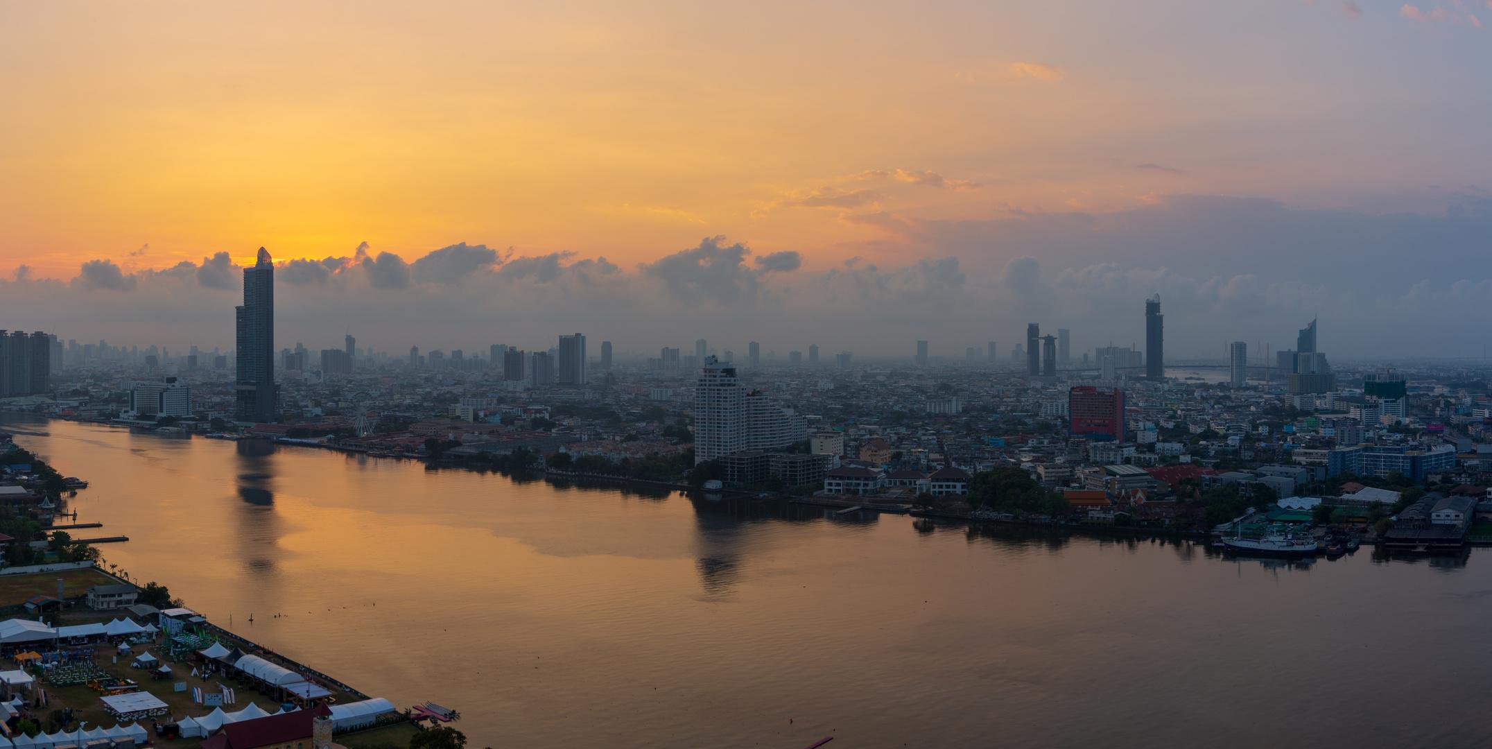 morgens in Bangkok