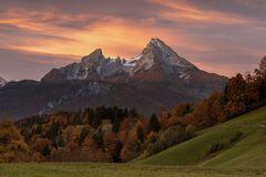 morgens in Berchtesgaden