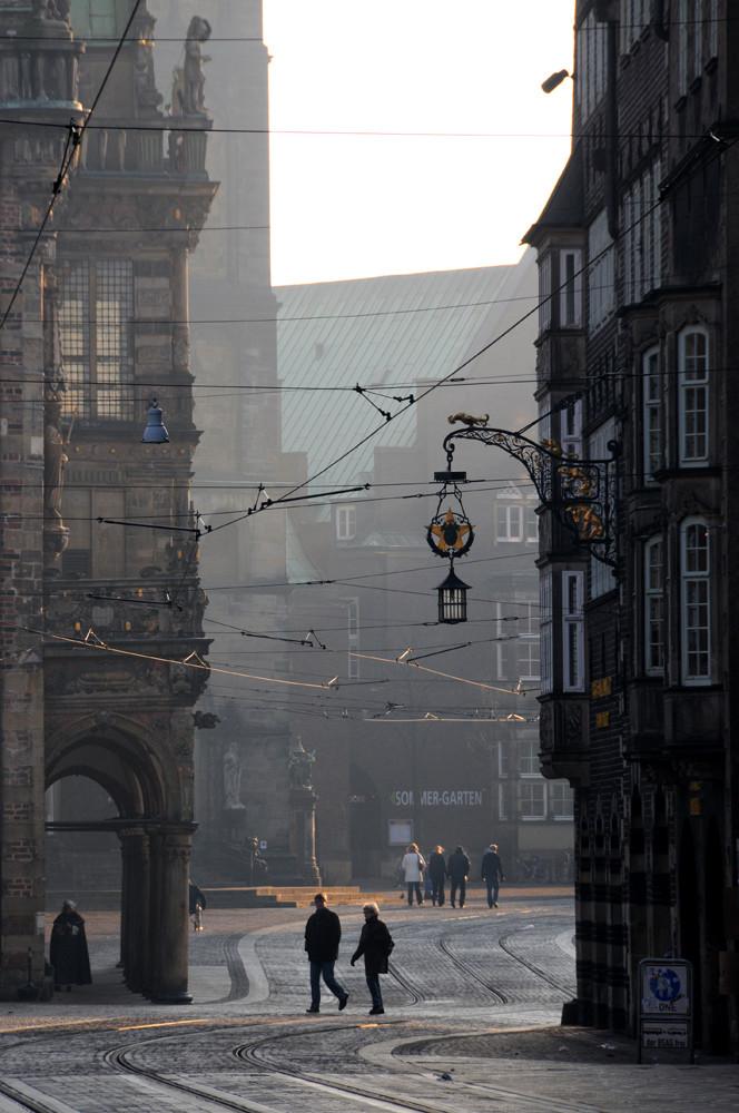 Morgens in Bremen