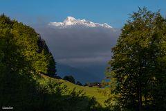 Morgens in den Bergen