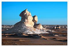 Morgens in der New White Desert...