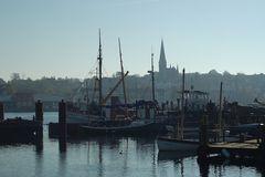 Morgens in Flensburg