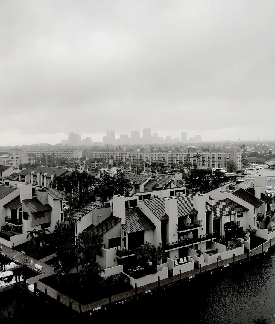 Morgens in Fortlauderdale