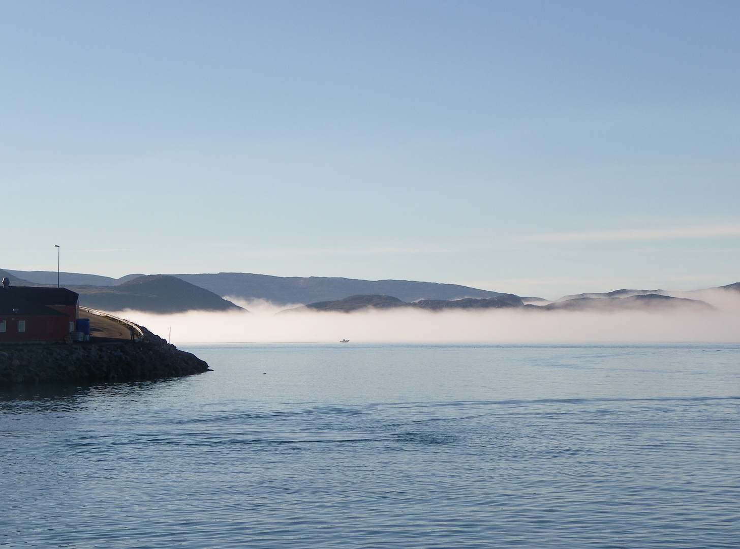 morgens in Grönland