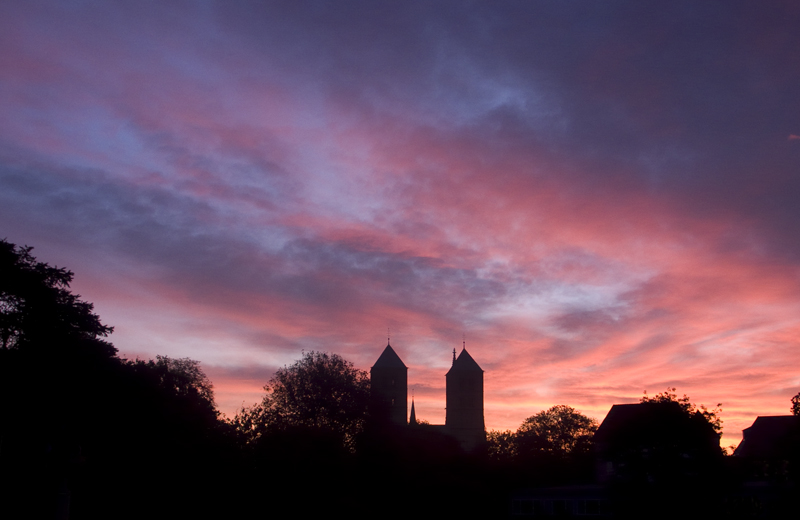 morgens in münster