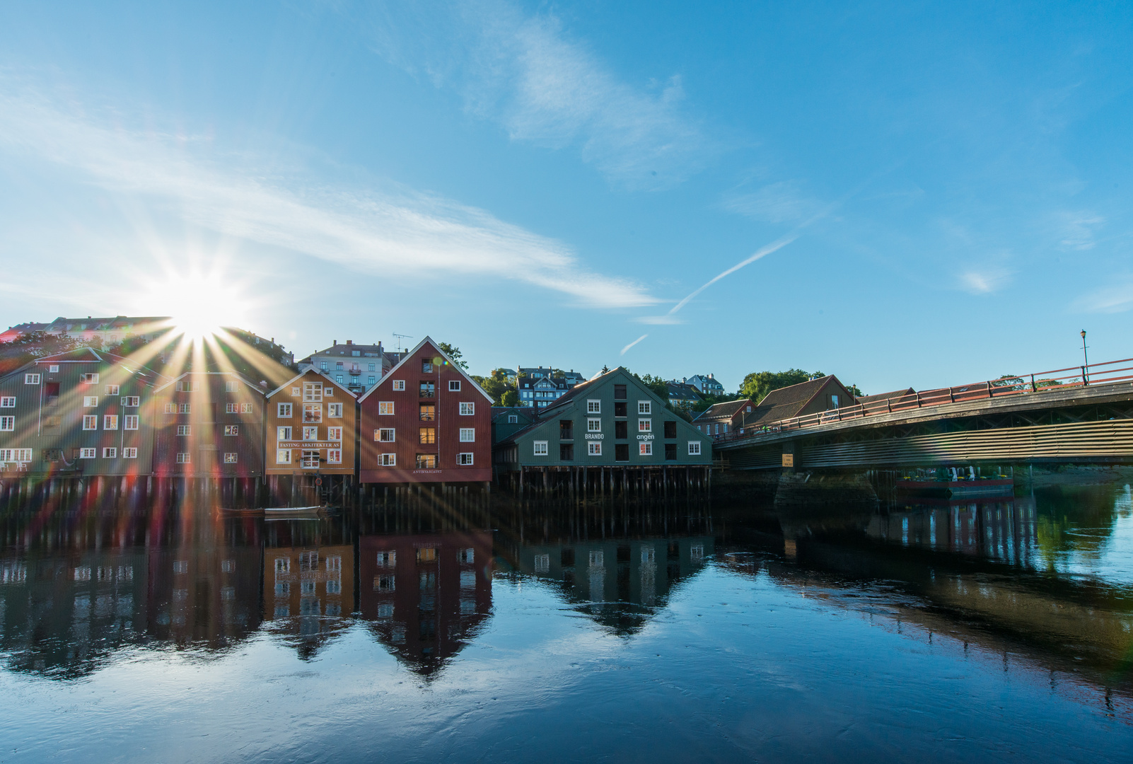 Morgens in Trondheim