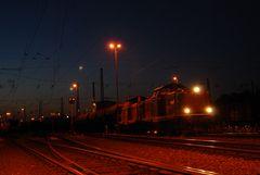 Morgens um 4:30 Uhr in Oberhausen West.....