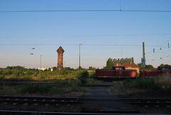 Morgens um halb sieben in Duisburg - Wedau....