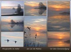 morgens vor dem Sonnenaufgang