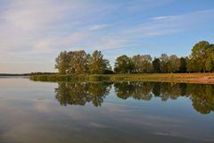 Morgenstille am Lac de Madine