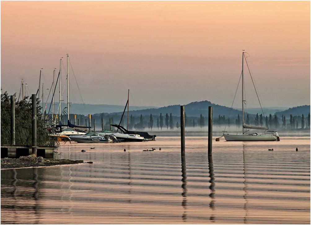Morgenstille in Iznang