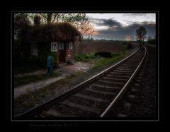 Morgenstimmung am Gleis