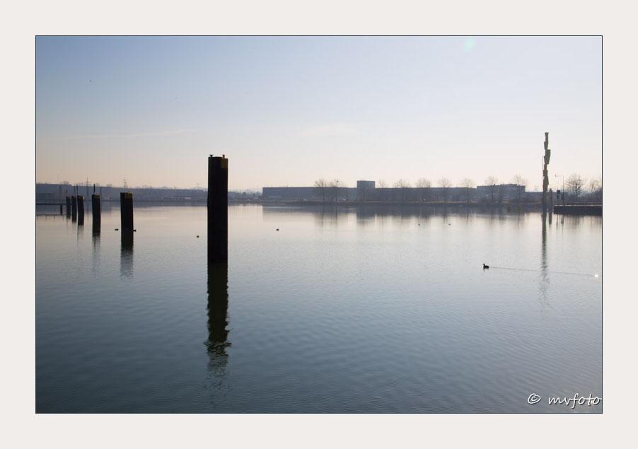 Morgenstimmung am Herner Meer