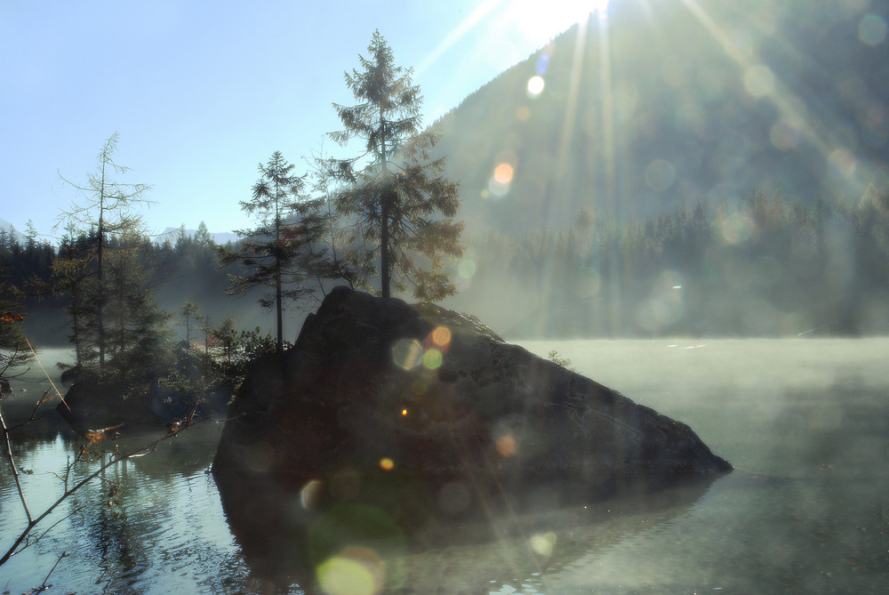 Morgenstimmung am Hintersee