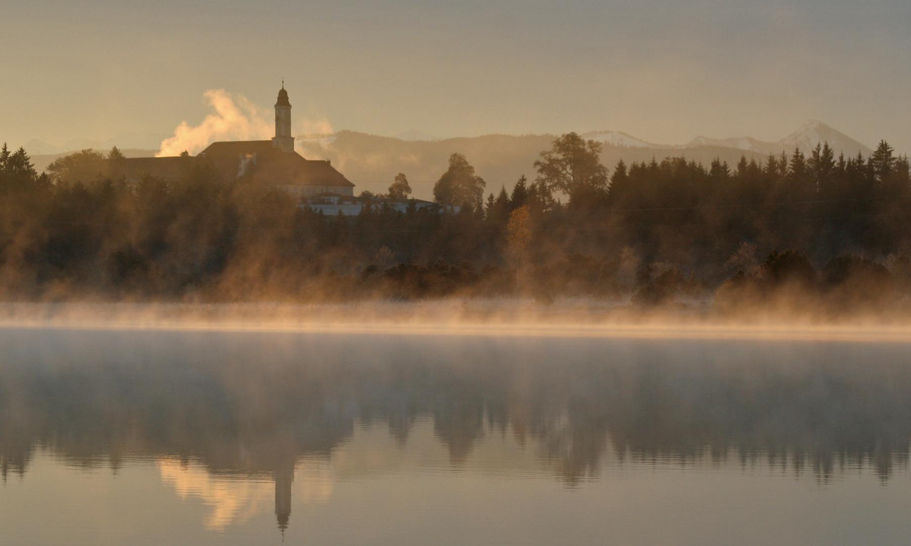 Morgenstimmung am Kirchsee