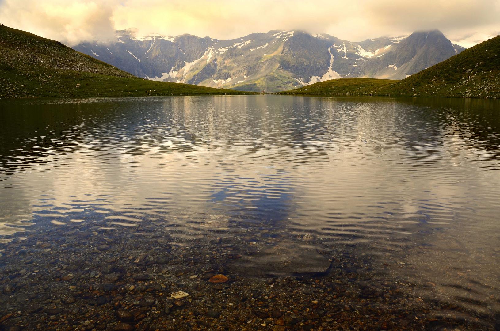 Morgenstimmung am Knappenbäudlsee