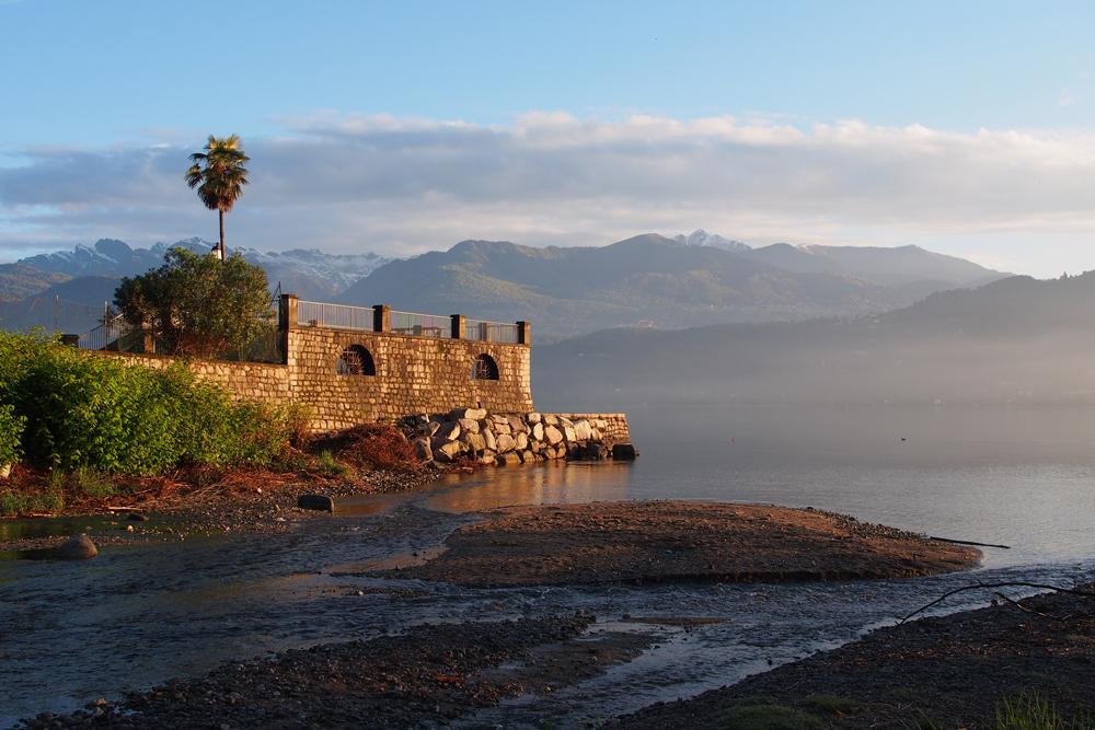 Morgenstimmung am Lago Maggiore bei Baveno