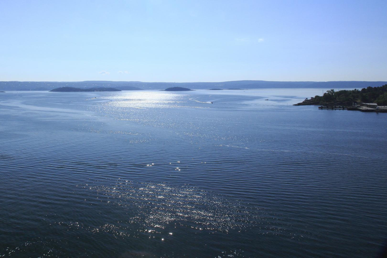 Morgenstimmung am Oslo-Fjord