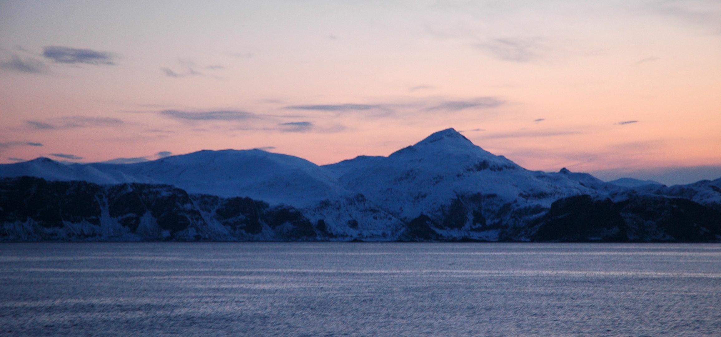 Morgenstimmung am Polarkreis, Norwegen