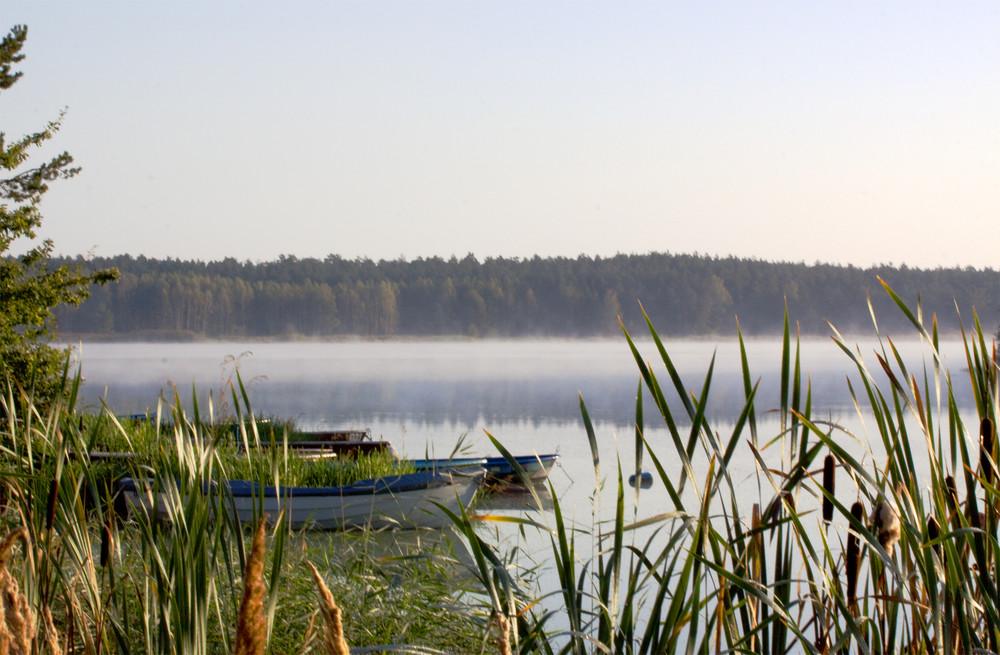 Morgenstimmung am Quitzdorfer See