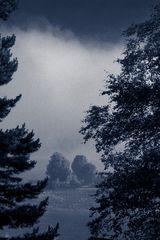 Morgenstimmung am Särnsjön (Schweden)