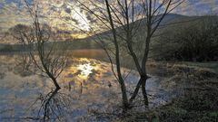 Morgenstimmung am See (amanecer en el lago)