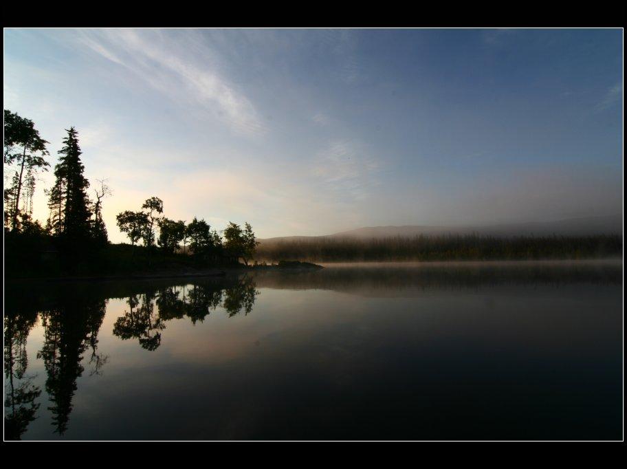 Morgenstimmung am Tetachuck Lake