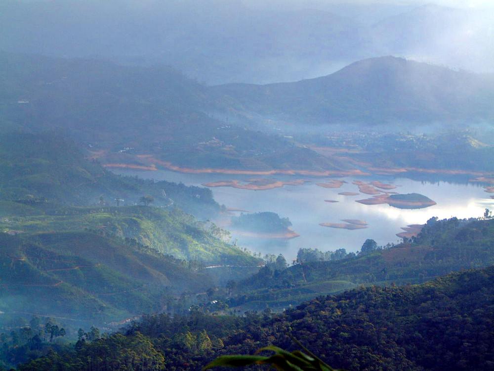 Morgenstimmung: Blick vom Adams Peak