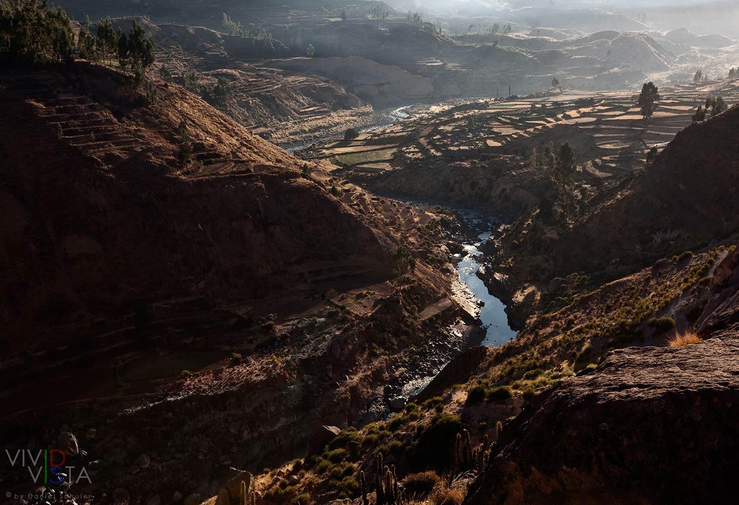Morgenstimmung im Colca Canyon