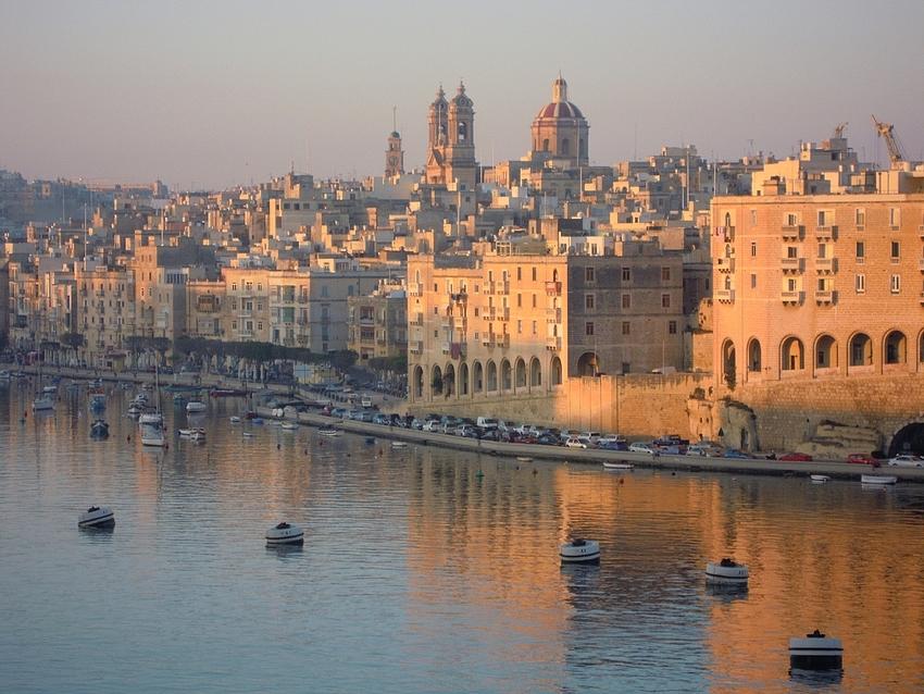 Morgenstimmung im Hafen von Malta