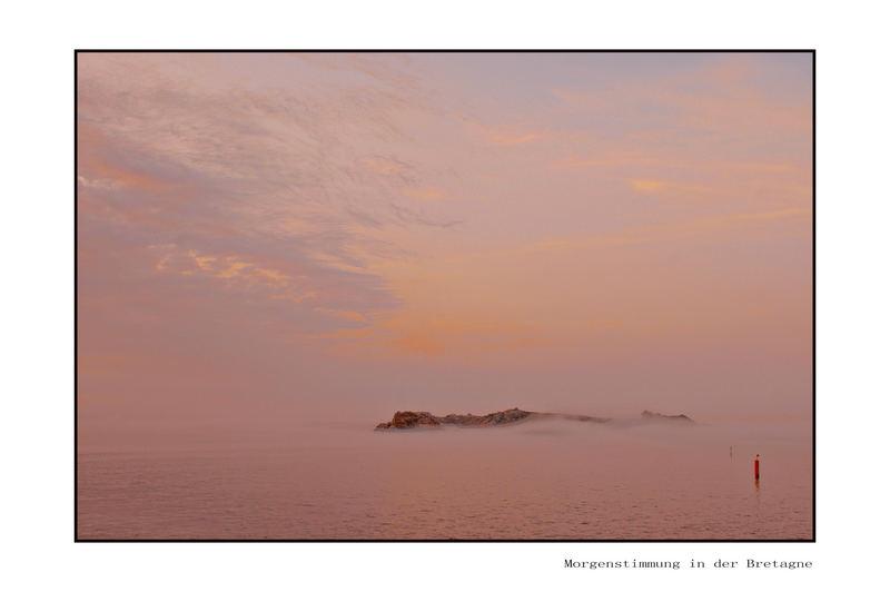 Morgenstimmung in der Bretagne