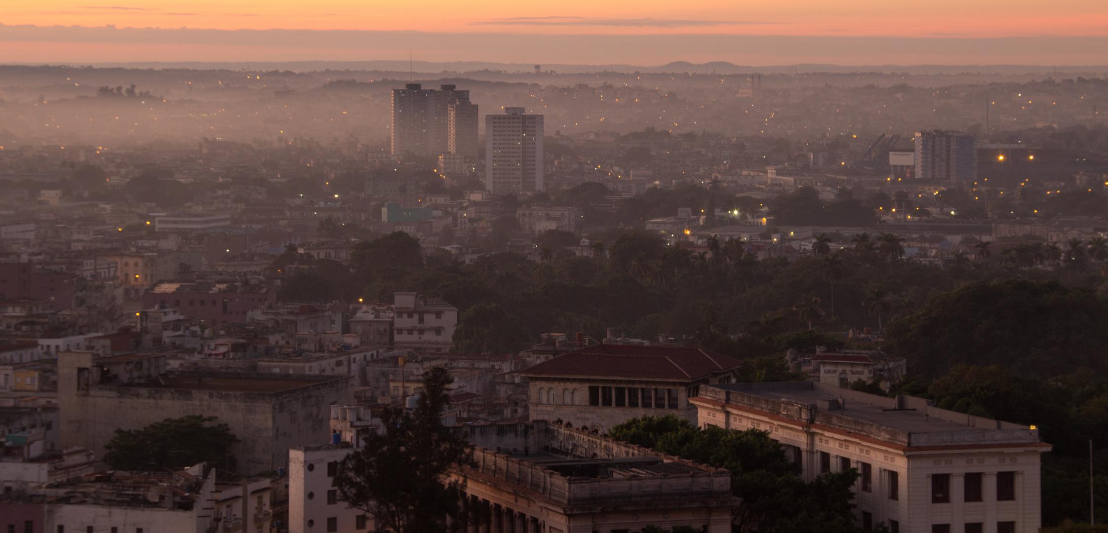 Morgenstimmung in Havanna
