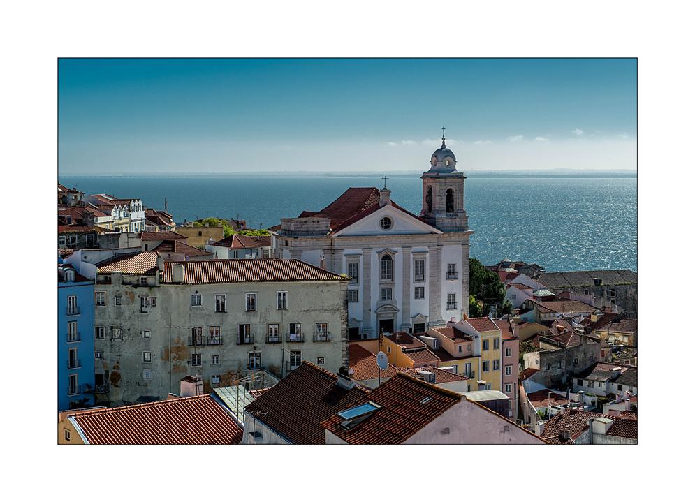 Morgenstimmung in Lissabon