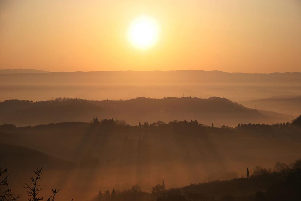 Morgenstimmung Toscana 4