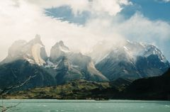 Morgensturm am Torres del Paine