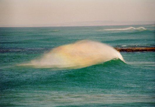 morgentliche Wellen