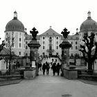 Moritzburg bei Regen